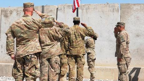 Amerikanische Soldaten in Afghanistan.