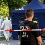 Der Tatort im Kleinen Tiergarten in Berlin-Moabit: Hier wurde Tornike K. am 23. August erschossen.