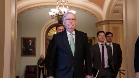 Mitch McConnell, republikanischer Mehrheitsführer im Senat.