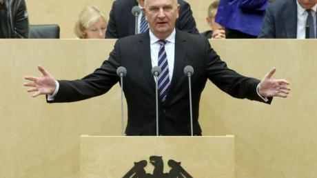 Brandenburgs Ministerpräsident und Bundesratspräsident Dietmar Woidke (SPD).
