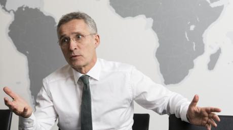 Jens Stoltenberg, der Generalsekretär der NATO, sendet ein Signal der Gesprächsbereitschaft nach Moskau.