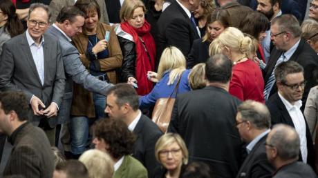 Abstimmung im Bundestag: 24 Parlamentarier von CDU und CSU haben Vorschläge für eine Verkleinerung des Parlaments vorgelegt.