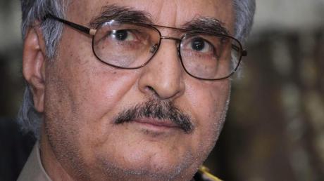General Chalifa Haftar versucht seit Monaten, mit seinen Truppen Tripolis zu erobern.