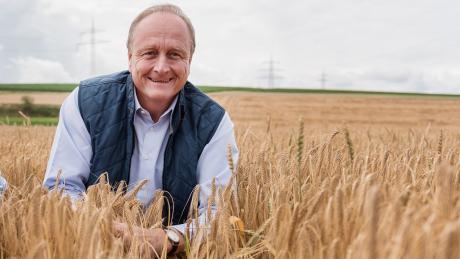 """Bauernpräsident Joachim Rukwied: """"Der Kauf von regionalen Produkten ist die beste Unterstützung einer heimischen Landwirtschaft."""
