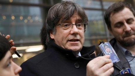 Carles Puigdemont, ehemaliger Regionalpräsident von Katalonien, kann vorerst in Belgien bleiben.