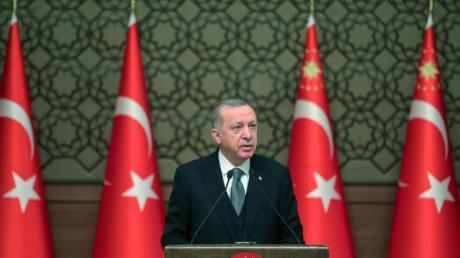 Der türkische Präsident Recep Tayyip Erdogan will den libyschen Regierungschef Fajis al-Sarradsch an der Macht halten.