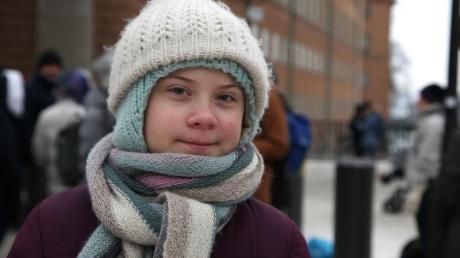 Die schwedische Klimaaktivistin Greta Thunberg ist 17 Jahre alt geworden.