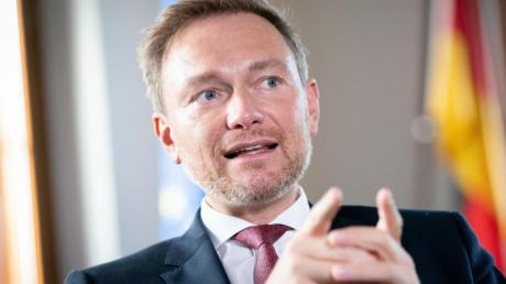 Christian Lindner, Parteivorsitzender der FDP, plädiert für Steuersenkungen.