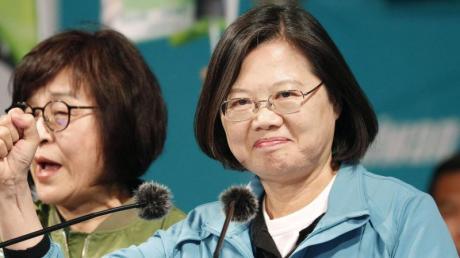 Taiwans chinakritische Präsidentin Tsai Ing-wen hat die Wahl gewonnen