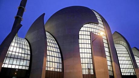 Die Ditib-Zentralmoschee in Köln. Der Verband schweigt zu den Machthabern in Afghanistan.