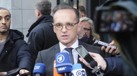 Außenminister Heiko Maas reist zu einem Krisengespräch nach Paris.