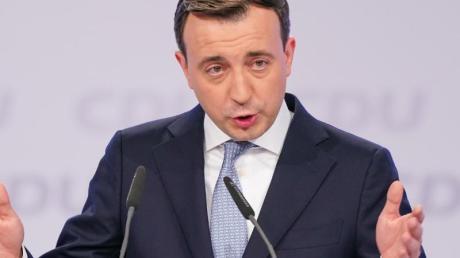 CDU-Generalsekretär Paul Ziemiak lehnt jede Zusammenarbeit mit der Linkspartei ab.