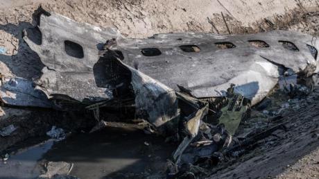 Beim Abschuss der ukrainischen Passagiermaschine starben 176 Menschen.