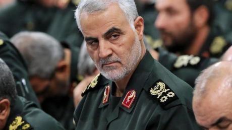 Der iranische General Ghassem Soleimani war Anfang Januar von einer US-Drohne im Irak getötet worden.