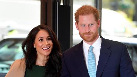 Der britische Prinz Harry, Herzog von Sussex, und seine Frau Meghan, Herzogin von Sussex.