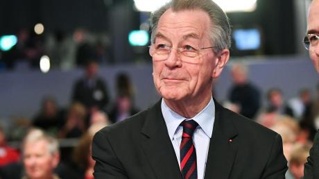 Franz Müntefering wird 80.