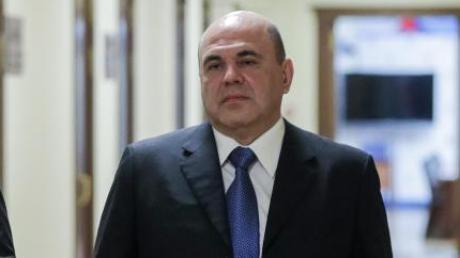 Wjatscheslaw Wolodin (l.), Vorsitzender des russischen Parlaments, und der neue Ministerpräsident Michail Mischustin in der Staatsduma.