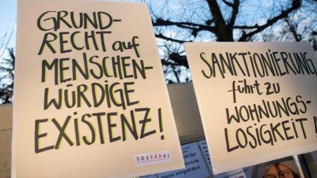 An der Schärfte der Hartz-IV-Sanktionen gibt es immer wieder Kritik.