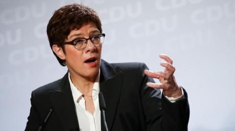 Weit entfernt von einstigen Umfragewerten: CDU-Chefin Annegret Kramp-Karrenbauer.
