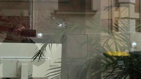 Das Büro des SPD-Bundestagsabgeordneten Karamba Diaby in Halle wurde angegriffen.