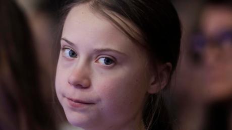 Greta Thunberg, Umweltaktivistin und Schülerin aus Schweden, beim Weltwirtschaftsforum.