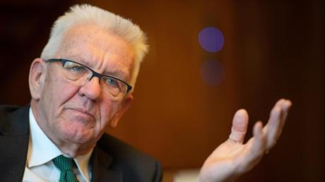 «Es gibt unentwegt Kämpfe ums Geld», sagt Baden-Württembergs Ministerpräsident Winfried Kretschmann (Grüne) über das Zusammenspiel von Bund und Ländern.