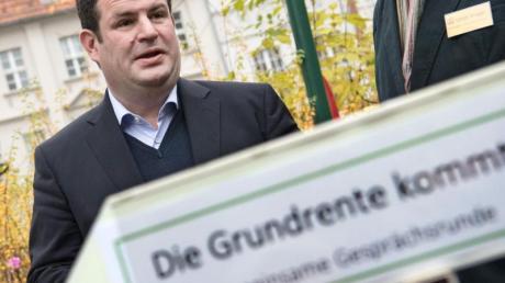 Bundesarbeitsminister Hubertus Heil (SPD) muss wegen seines Referentenentwurfs zur Grundrente viel Kritik einstecken.