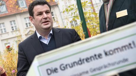 Arbeitsminister Hubertus Heil (SPD) will die Grundrente. Aber bekommt er sie auch?
