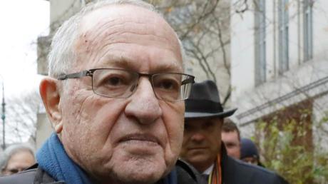 US-Staranwalt Alan Dershowitz gehört zum Verteidigerteam im Amtsenthebungsverfahren gegen US-Präsident Donald Trump.