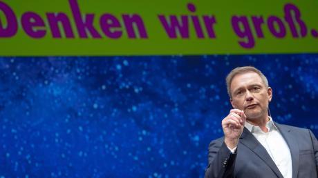 FDP-Chef Christian Lindner würde seine Partei in den Umfragen gerne wieder deutlich über die Zehn-Prozent-Marke hieven.