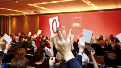 Der SPD-Landesparteitag stimmte mit großer Mehrheit für den Eintritt in eine Minderheitsregierung in Thüringen.