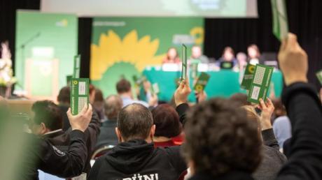 Parteitag der Grünen in Apolda.
