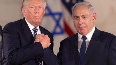 Kommen in Washington zusammen: US-Präsident Donald Trump und Israels Regierungschef Benjamin Netanjahu.