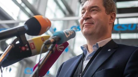 CSU-Chef Markus Söder fordert eine Senkung der Unternehmenssteuern.