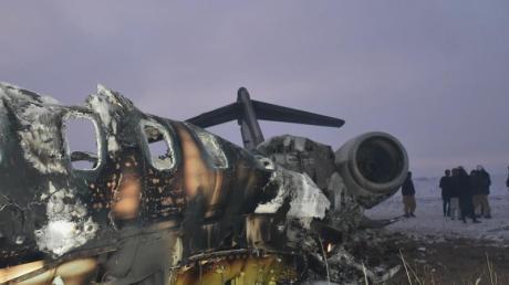 Das US-Militär bestätigte den Absturz der Maschine.