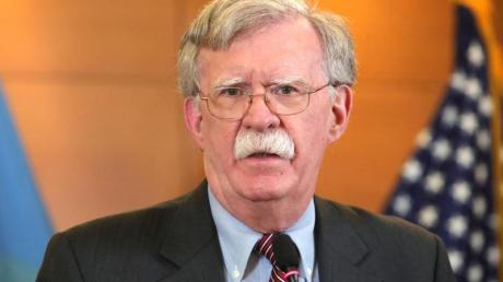 """Trumps Ex-Sicherheitsberater John Bolton kämpft um die Veröffentlichung seines Buchs """"The Room Where It Happened""""."""