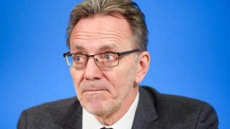 BKA-Präsident Holger Münch: «Die starke Zuwanderung der vergangenen Jahre hat uns vor allem mit Blick auf die Identifikation der Menschen, die zu uns kommen, vor einige Herausforderungen gestellt.».