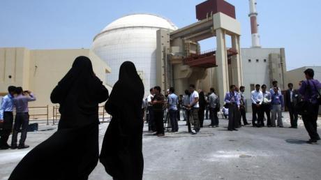 Das Atomkraftwerk im iranischen Buschehr.