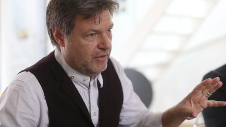 """Grünen-Chef Robert Habeck im Interview: """"Wir haben den Anspruch, in allen gesellschaftlichen Fragen Antworten zu geben."""""""