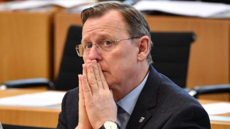 Bodo Ramelow wurde wegen einer Intrige um sein Amt als Ministerpräsident gebracht.