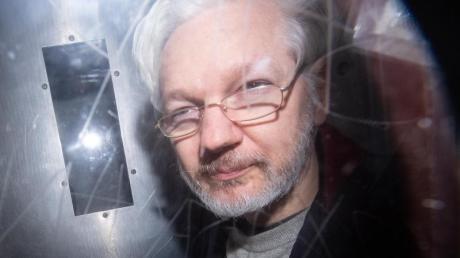 Wikileaks-Gründer Julian Assange sitzt seit April 2019 im Hochsicherheitsgefängnis Belmarsh im Osten Londons.