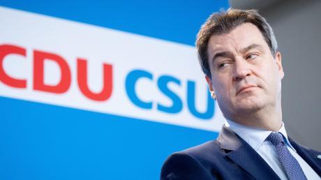 CSU-Chef Markus Söder wird als heißer Anwärter auf die Kanzlerkandidatur bei der Union gehandelt.