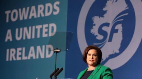 Sinn-Fein-Präsidentin Mary Lou McDonald.