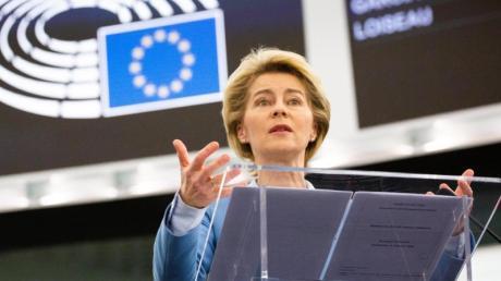 «Natürlich kann sich das Vereinigte Königreich mit weniger zufrieden geben»: Ursula von der Leyen.