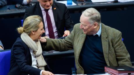 Alice Weidel und Alexander Gauland, die beiden AfD-Fraktionschefs im Bundestag.