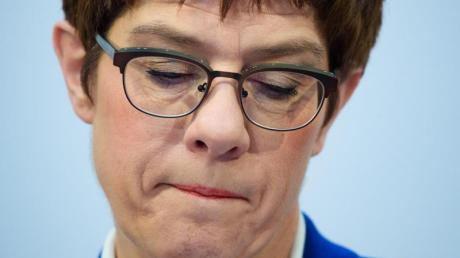 Verzichtet auf eine Kanzlerkandidatur und auf den CDU-Vorsitz: Annegret Kramp-Karrenbauer.
