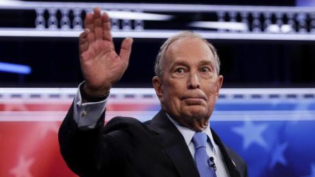 MIchael Bloomberg, einer der reichsten Menschen der Welt, ist erst spät in das Rennen seiner Partei eingestiegen.