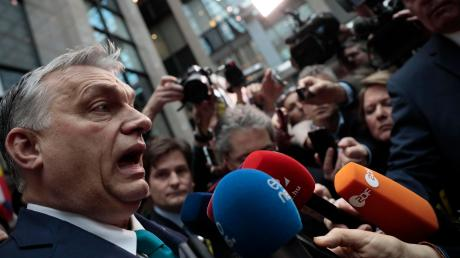 Fordert einen deutlich höheren Haushaltsrahmen für die EU: Der ungarische Ministerpräsident Viktor Orban in Brüssel.