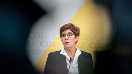 Annegret Kramp-Karrenbauer, CDU-Bundesvorsitzende und Verteidigungsministerin, macht im April Platz für einen Nachfolger.