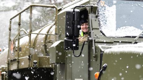 """Das nette Gesicht sollte nicht über den Charakter des Nato-Manövers """"Defender Europe 2020"""" hinwegtäuschen. Die Übung ist ein klares Signal an Russlands  Präsident Wladimir Putin."""